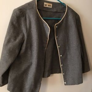 Mr Mort vintage 1960s mod wool jacket size small